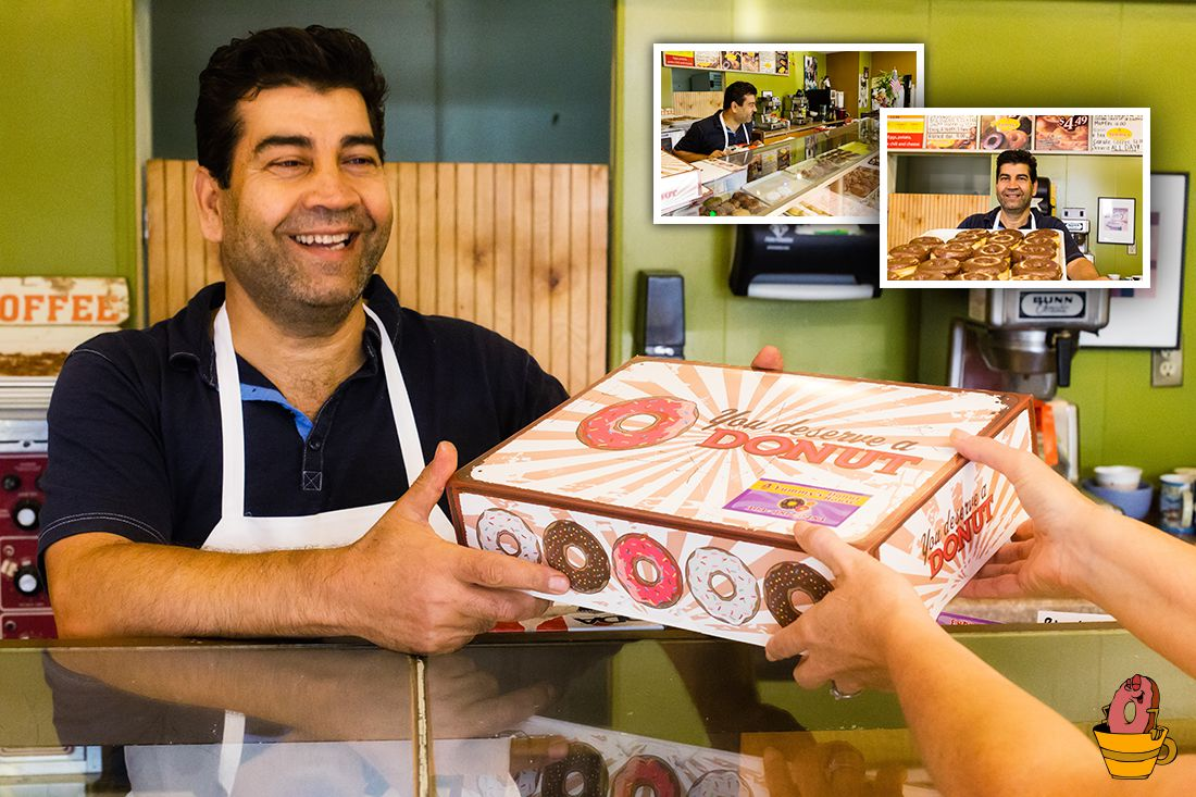 Service With A Smile at Yummy's Donut House